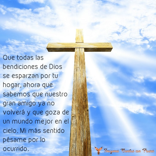 Imágenes Cristianas Con Frases De Luto Y Condolencias