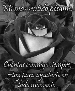 Imágenes de flores negras
