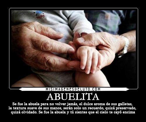 Frases Para Mi Abuelita Que Fallecio Wwwimagenesmycom