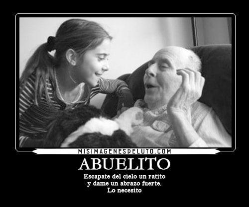 frases de luto para un abuelo