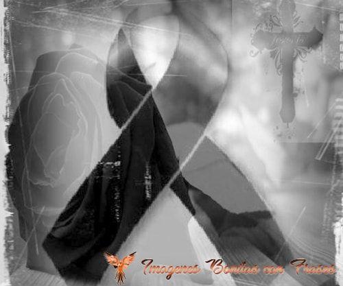 imágenes de lazo de luto