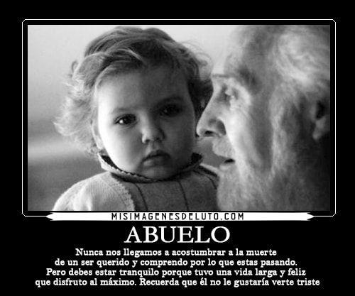 Hermosas Frases De Luto Para Un Abuelo Que Está En El Cielo