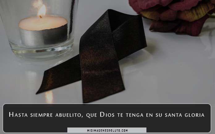 Imágenes de luto para un abuelo fallecido