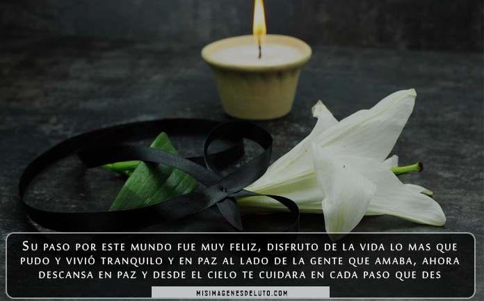 Imágenes de luto para un amigo que murió