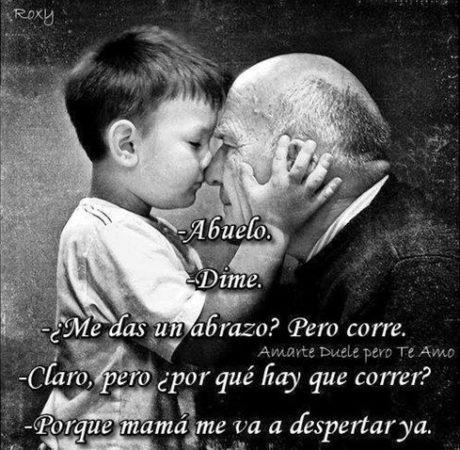 frases luto abuelo