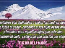 feliz dia de las madres que estan en el cielo
