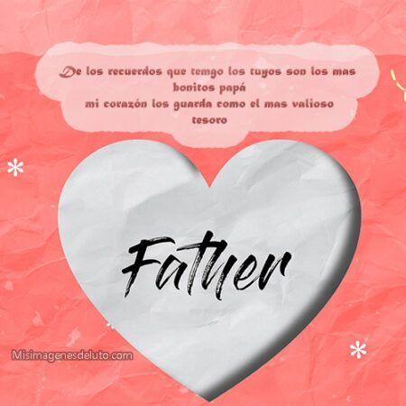 mi corazón te recuerda papá