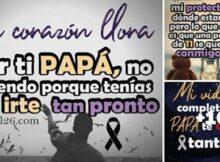 10 imagenes de luto por un padre